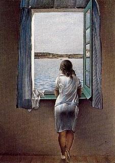 La noia de la finestra