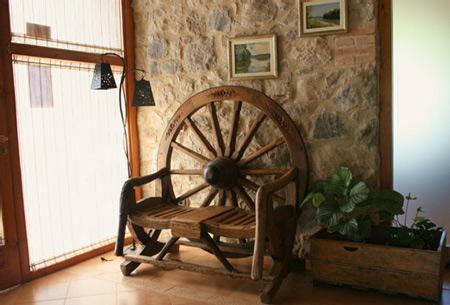 Entrada casa rural Mas del Joncar