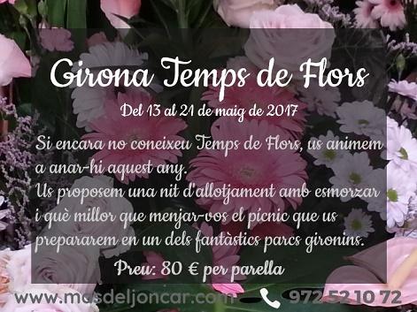 Temps de Flors 2017 - Mas del Joncar