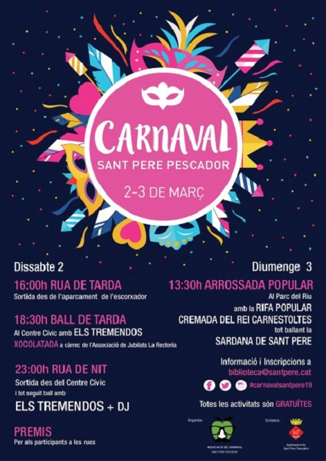 Programa de Carnaval 2019 de Sant Pere Pescador