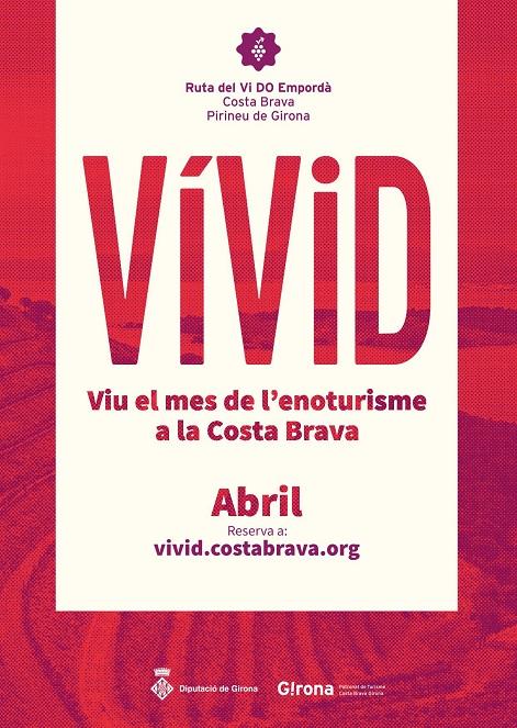 Festival del Vi a l'Empordà. Activitats durant tot el mes d'abril del 20190